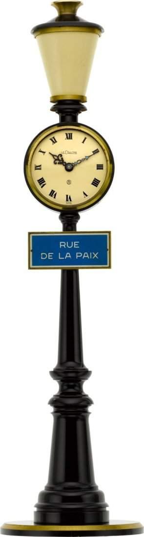 """LeCoultre Pendulette """"Rue de la Paix"""" Eight Day"""