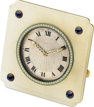 Cartier Very Fine Enamel, Agate & Gold Montre de