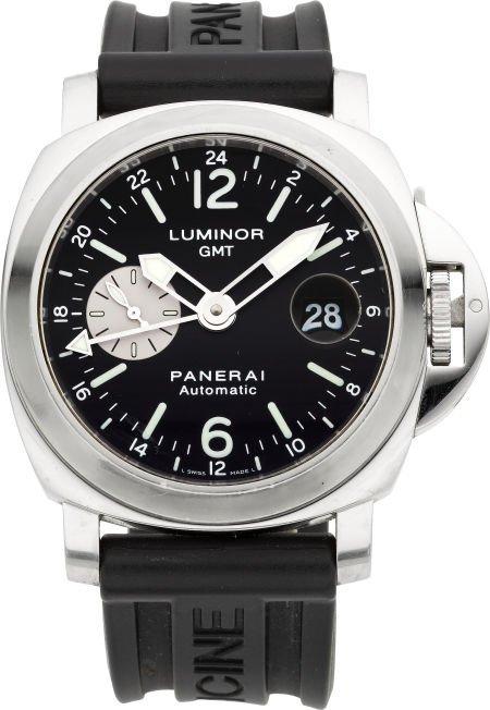 58199: Panerai OP 6554 Ocean Chronometer GMT Automatic