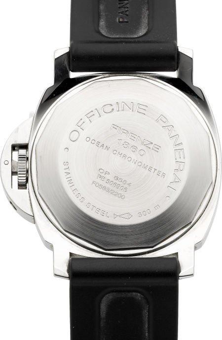 58199: Panerai OP 6554 Ocean Chronometer GMT Automatic  - 2