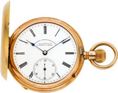 A Lange & Söhne Deutsche Uhrenfabrikation Rose G
