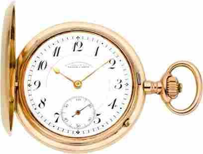 A. Lange & Söhne Very Fine Rose Gold Pocket Watc