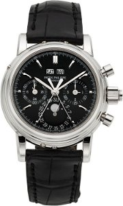 58271: Patek Philippe Ref. 5004P Extremely Rare And Imp