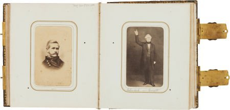 32005: Carte de Visite Album: Beautiful Civil War Perio