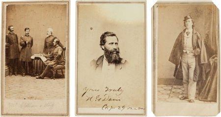 32010: Group of Three Scarce Civil War Cartes de Visite