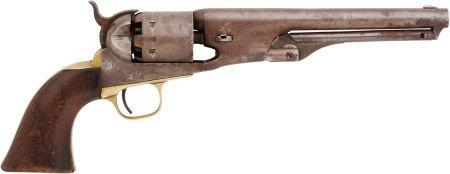32304: Colt Model 1861 .36 Caliber Navy Revolver Serial