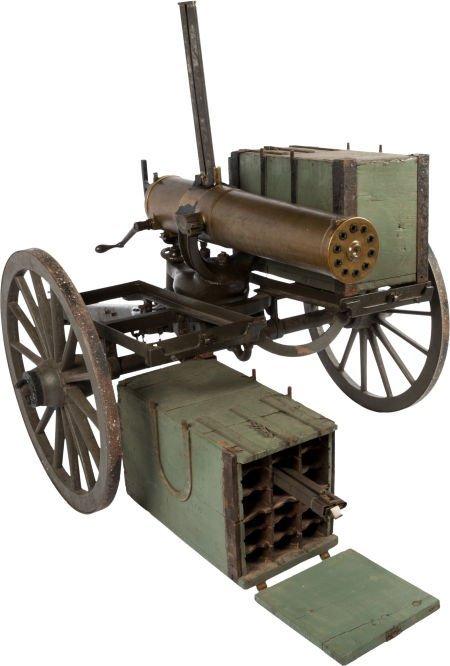 32237: Very Rare U.S. Model 1875 Colt Gatling Gun on Or