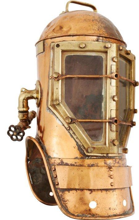 32452: Diving Helmet: Shallow Water Miller-Dunn Navy St