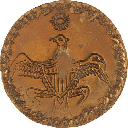 38015: George Washington: Unlisted Inaugural Button.