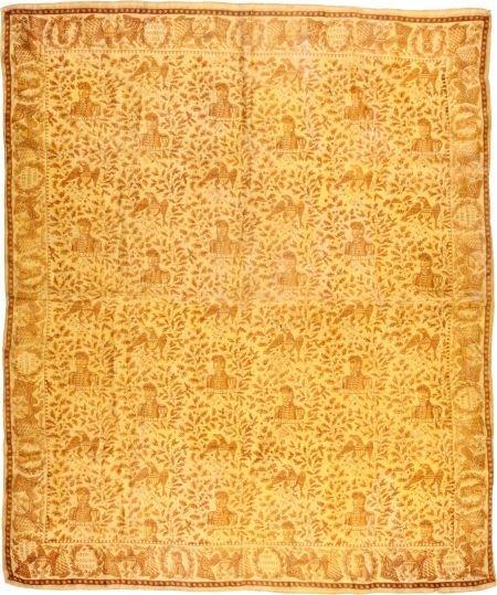 38023: Marquis de la Fayette: Exceptional Silk Handkerc