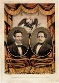 38060 Lincoln  Hamlin Grand National Banner Print