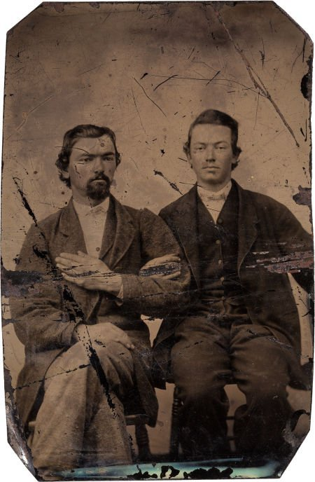 44004: George Todd: A Tintype Image Believed to be This