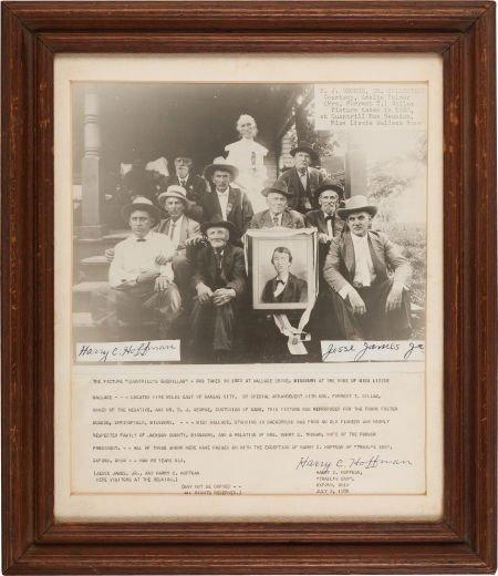 44005: Quantrill's Guerillas: A Great 1920 Reunion Phot