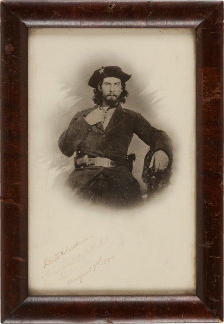 """44009: """"Bloody Bill"""" Anderson: A Vintage Copy Image, wi"""