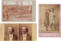 44183 Group of Three Wild West Show Actors Photograph