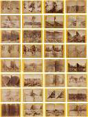 44300 ThirtyTwo Stereoviews from the United States To