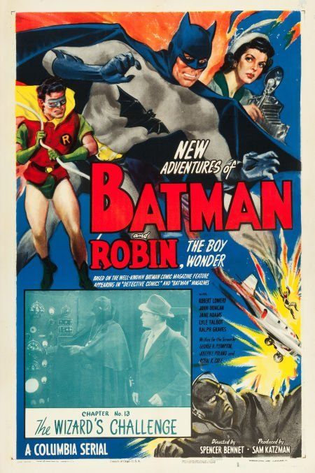 83009: The New Adventures of Batman and Robin (Columbia