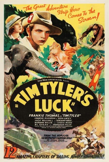 83013: Tim Tyler's Luck (Universal, 1937). Stock One Sh