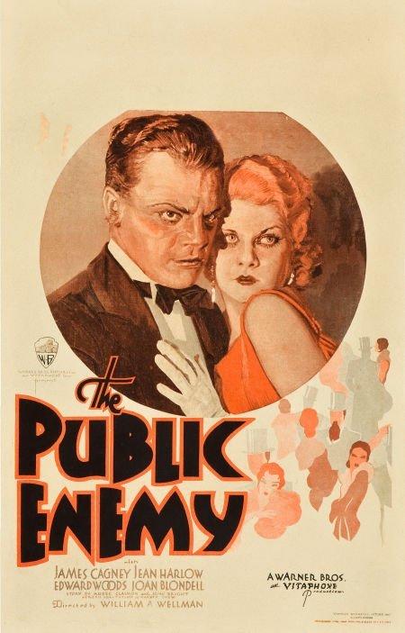 83014: The Public Enemy (Warner Brothers, 1931). Window
