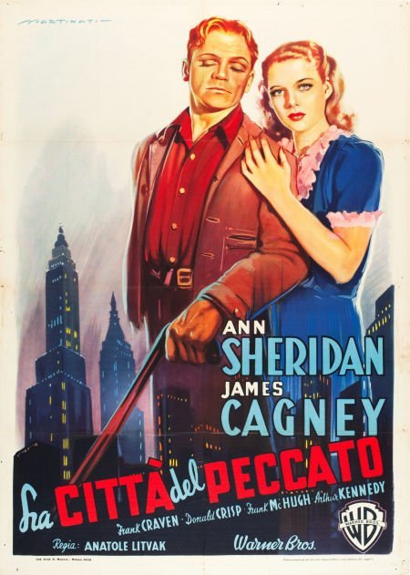 83015: City for Conquest (Warner Brothers, late 1940s).