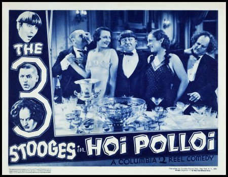 83114: The Three Stooges in Hoi Polloi (Columbia, 1935)