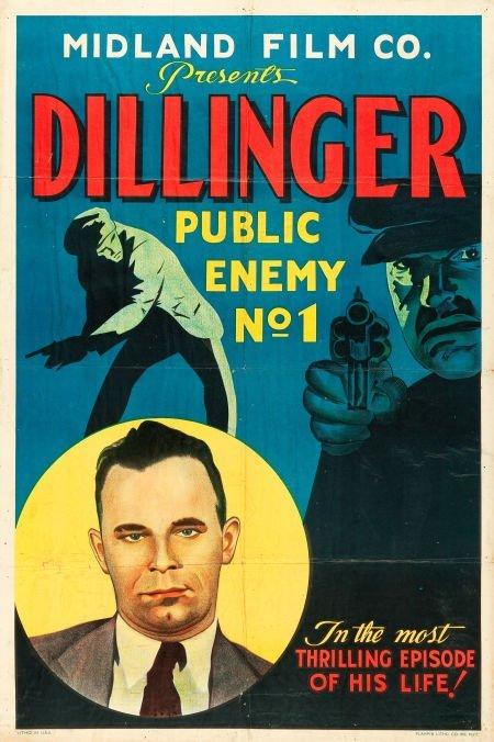 83017: Dillinger: Public Enemy No.1 (Midland Film Co.,