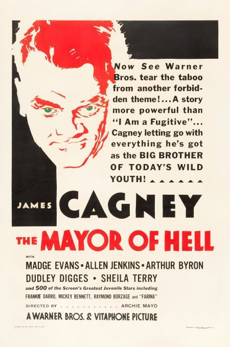 83019: The Mayor of Hell (Warner Brothers, 1933). One S
