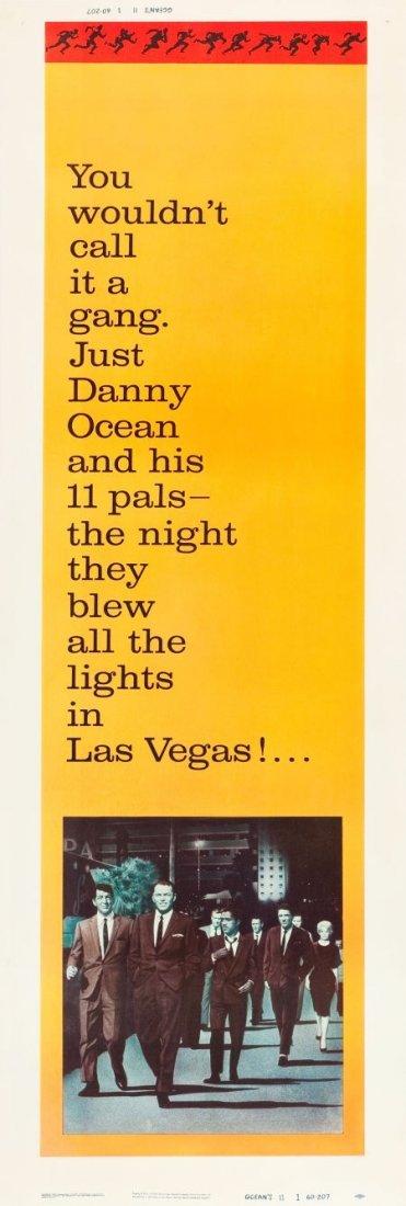83021: Ocean's 11 (Warner Brothers, 1960). Door Panel S
