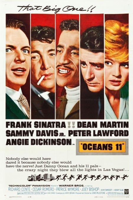 83024: Ocean's 11 (Warner Brothers, 1960). One Sheet (2