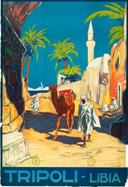 83050: Tripoli, Libya Travel Poster (ENIT, Late 1920s-E
