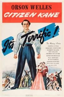 """83369: Citizen Kane (RKO, 1941). One Sheet (27"""" X 41"""")"""