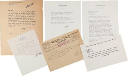 46009: A Marilyn Monroe-Received Group of Correspondenc