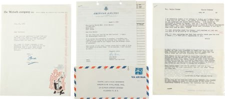 46010: A Marilyn Monroe-Received Group of Correspondenc