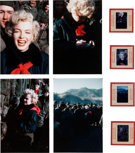 46013: A Marilyn Monroe Group of Never-Before-Seen Colo