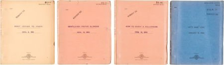 46015: A Marilyn Monroe-Related Group of Scripts, 1950s