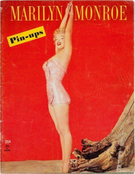 46016: A 'Marilyn Monroe Pin-Ups' Rare Magazine, 1953.