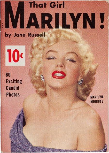 46017: A 'That Girl Marilyn!' (Monroe) Rare Magazine, C