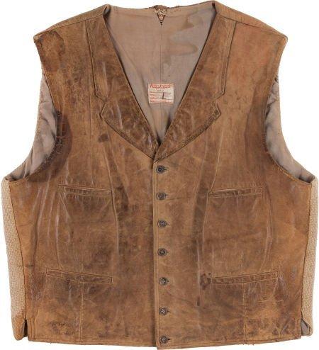 "46019: A John Wayne Vest from ""The Cowboys."""