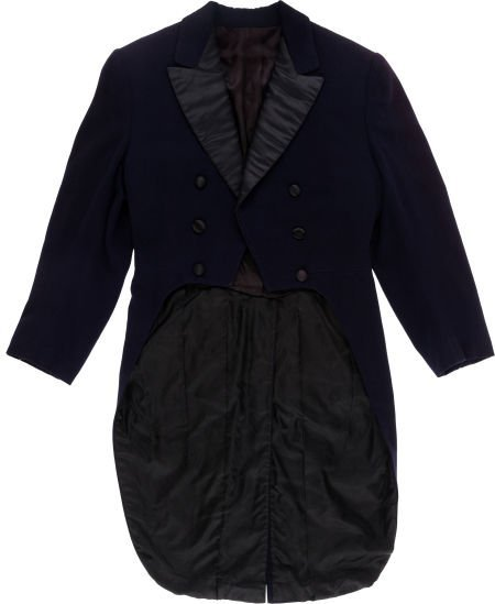 """46020: A John Wayne Tailcoat from """"Lady for a Night."""""""