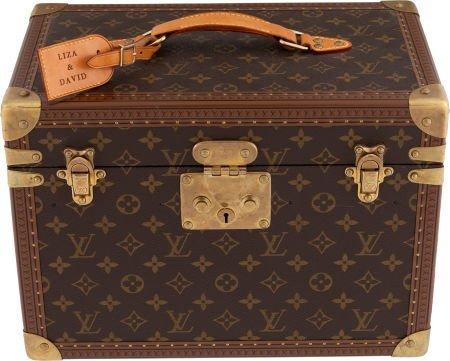 46129: A Liza Minnelli Beautiful Louis Vuitton Case, Ci