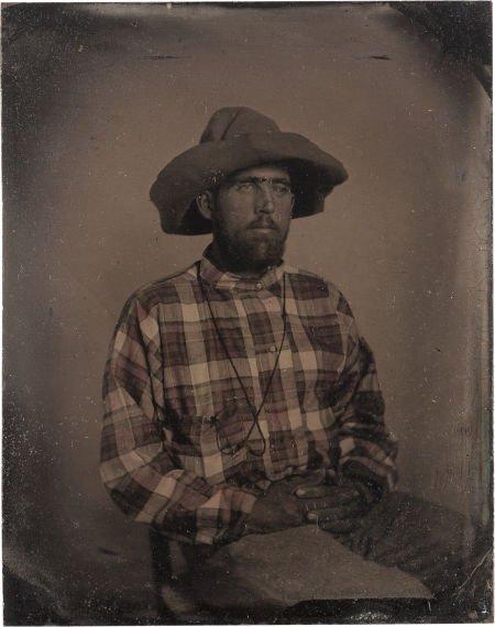 "44019: [Texas Rangers]. Captain Cicero Rufus ""Rufe"" Per"