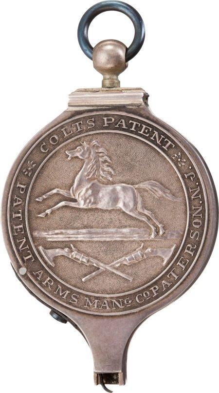 44058: Silver Replica of a Colt Paterson Capper, circa