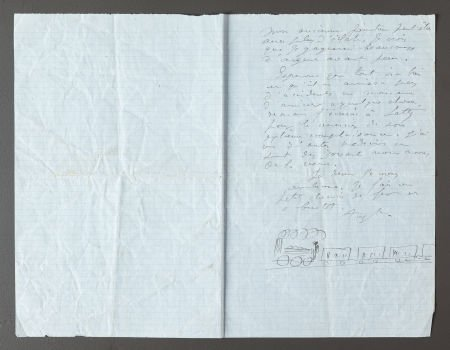 89047: A LETTER FROM RENOIR TO ALINE REGARDING THEIR FA
