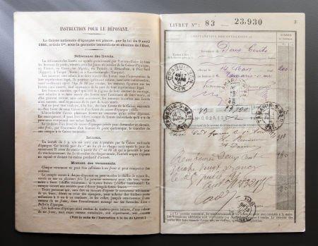 89010: RENOIR'S BANK BOOK  THE RENOIR COLLECTION