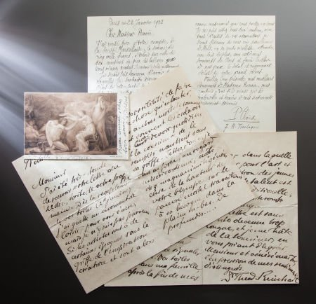 89018: CORRESPONDENCE FROM FRIENDS AND COLLEAGUES TO RE