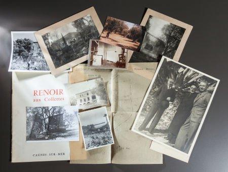 89020: RENOIR'S HOME, LES COLLETTES DOCUMENTS, PHOTOGRA