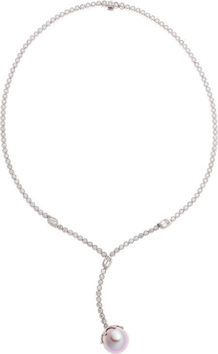 Michael Beaudry South Sea Cultured Pearl, Diamon