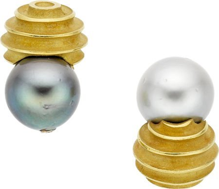 64703: Christopher Walling South Sea Cultured Pearl, Di