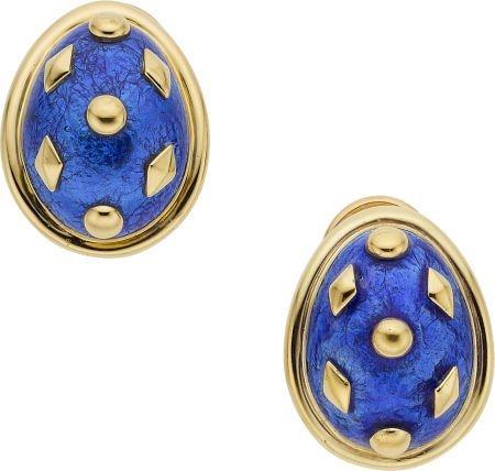 64658: Jean Schlumberger for Tiffany & Co. 18k Gold, En