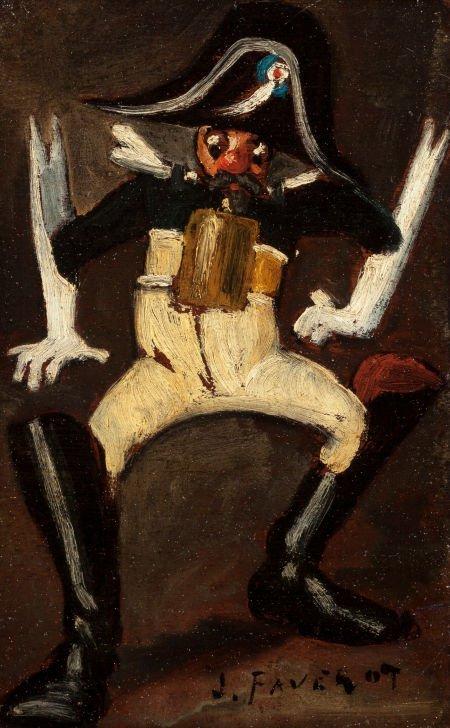 62646: JOSEPH FAVEROT (French, 1862-1915) Portraits of